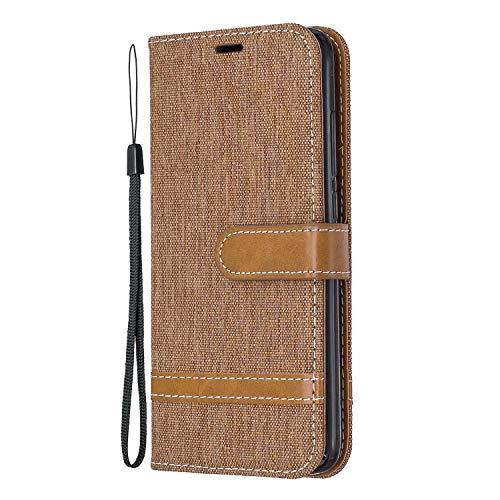 Hülle für Xiaomi Redmi 7A Hülle Handyhülle [Standfunktion] [Kartenfach] [Magnetverschluss] Schutzhülle lederhülle flip case für Xiaomi Redmi 7A - DEBF031267 Braun