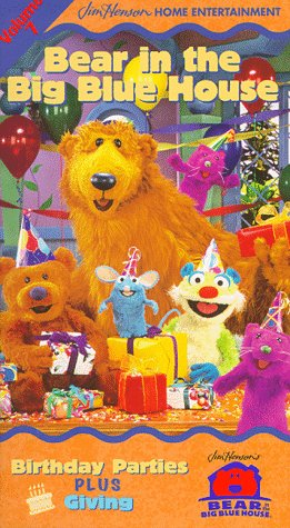 Bear in the Big Blue House, Vol. 7 - Birthday Parties / Giving [VHS]