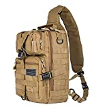 Tactical Sling Bag Pack Military Rover Shoulder Sling Backpack EDC Molle Assault Range Bag