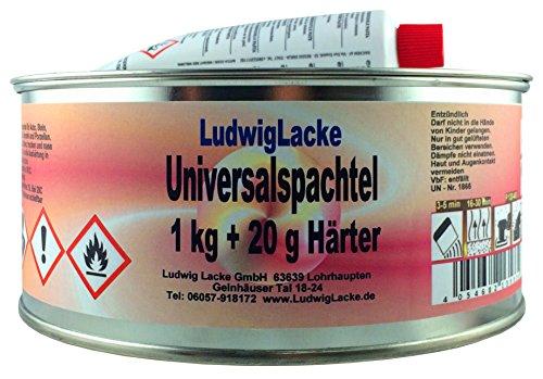 Ludwig Lacke Universalspachtel 1 kg + 20 Gramm