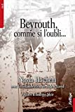 Beyrouth, comme si l'oubli... Avec la collaboration de Hyam Yared. Préface d