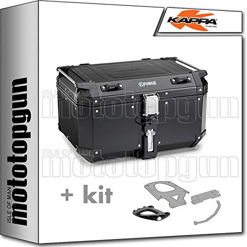 kappa maleta kfr580b k'force 58 lt + portaequipaje monokey compatible con honda xl 125 v varadero 2010 10