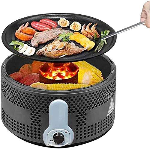 Barbecue avec deux zones de chauffe