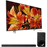 Sony Bravia XBR65X850F 65' 4K HDR10 HLG Triluminos Android TV with Google Assistant 3840x2160 & Sony HTX9000F 2.1Ch 4K HDR Compatible Dolby Atmos Soundbar with Bluetooth