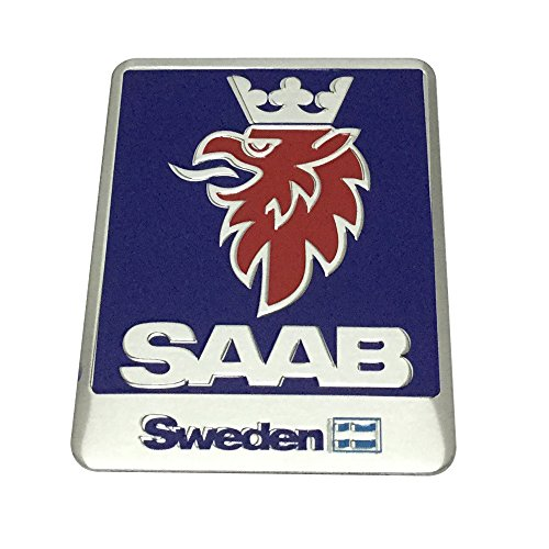 1pcs Car Styling Accessories SAAB Sweden Emblem Badge Decal Sticker Fit For SAAB Car Lover