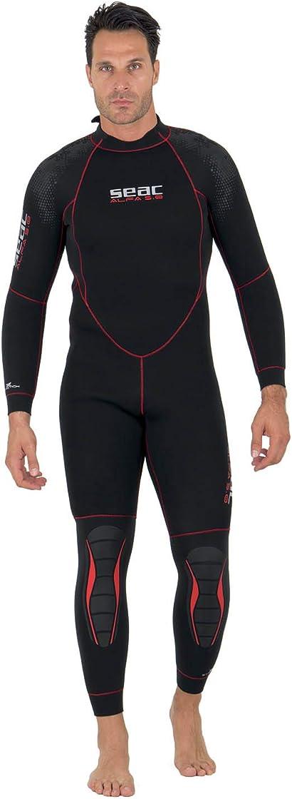 Muta sub - seac alfa 5.0, muta da sub da 5 mm per immersione subacquea uomo 0010217250105A