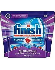 Finish Dishwasher Detergent Tablets, Quantum Max