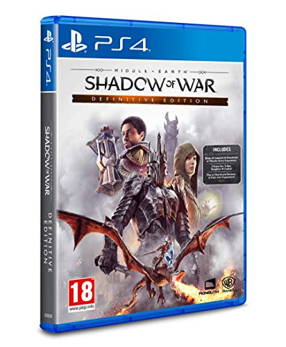 Middle Earth: Shadow of War Definitive Edition - PlayStation 4 [Importación inglesa]