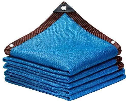 Filet D'Ombrage Épaisseur de crème solaire agricole épaississante cryptée bleue nuance bleue, conservation de la chaleur et hydratante, piscine extérieure ombrage de la piscine, net d'isolation de la