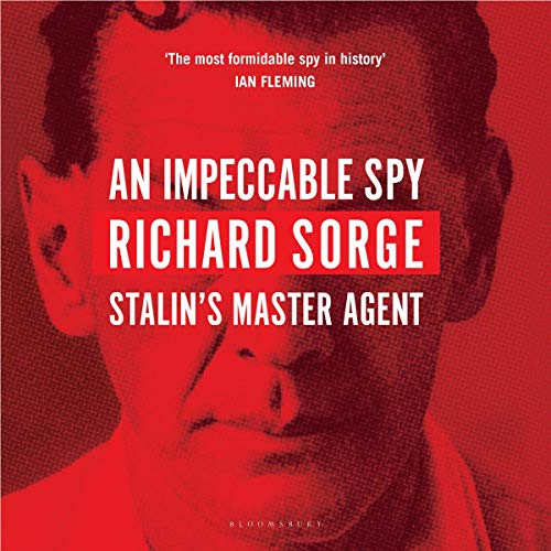 An Impeccable Spy audiobook cover art