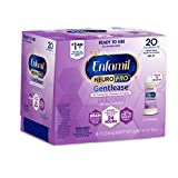 Enfamil NeuroPro Gentlease Ready to Use Baby Formula, Brain and Immune Support with DHA, Clinically Proven to Reduce Fusiness, Gas, Crying in 24 Hours, Non-GMO, 2 Fl Oz Nursette Bottles (6 count)