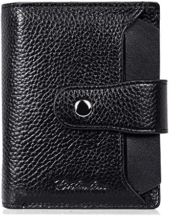 BOSTANTEN Small Leather Wallet for Women RFID Blocking Women s Bifold Walllet with Credit Card product image
