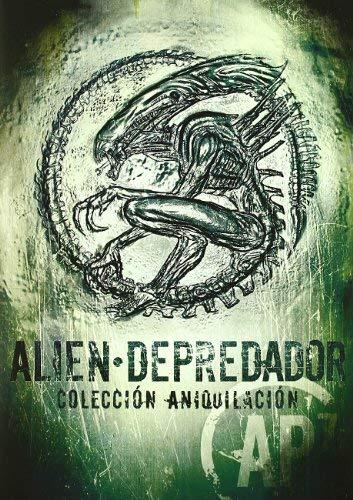 Alien / Predator Annihilation Collection - 7-DVD Box Set ( Alien / Aliens / Alien 3 / Alien Resurrection / Predator / Predator 2 / Alien vs. Predator ) [ Spanische Import ]