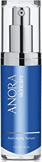 Anora Skincare Anti-Aging Serum, Moisturizer for Fine Lines and Wrinkles, 1 oz.