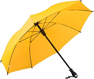 Household Umbrellas Men's Long Handle Umbrellas Men and Women Sun Umbrellas Rain and Rain Umbrellas Five Colors Available Ztoyby (Color : Yellow)