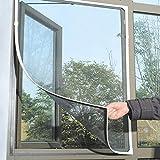 WZY 林フライバグ蚊帳ドア窓ネットネッティングメッシュスクリーンカーテンプロテクター防虫ネット昆虫DIY、サイズ:1.3x1.5cm(ホワイト) (Color : Grey)