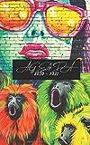 Agenda 2020 - 2021: Agenda Scolaire Journalier Street Art Femme Singe Oiseau artistique Graff Graffiti   Agenda 292 pages   collège lycée étudiant