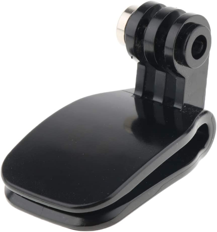perfk Rucksack Clip Schultergurt Hut Kamera Halterung Montage Schnalle f/ür GoPro Sjcam uaw Grau