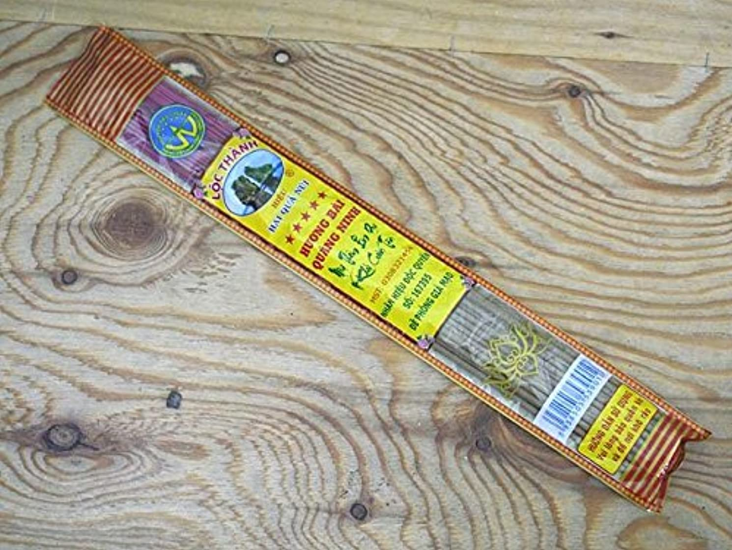 立ち寄る持続的住人Vietnam Incense ベトナムのお香【ビニールパック沈香スティック】 ハンドメイド
