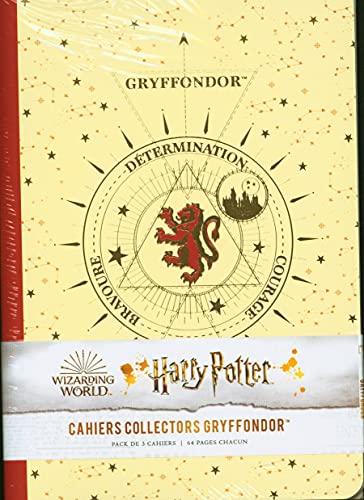 Harry Potter constellations : pack de 3 cahiers Gryffondor