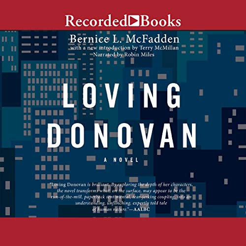 Loving Donovan audiobook cover art