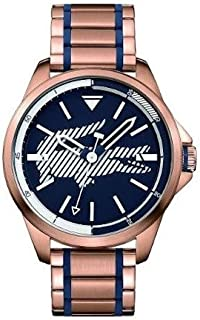 Lacoste Women's Blue Dial Stainless Steel Band Watch - 2010963