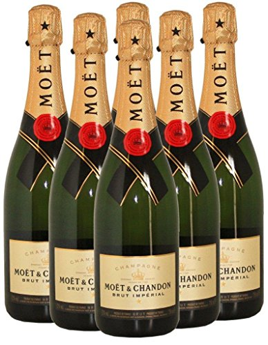 6 Flaschen -Moet & Chandon Brut Imperial NV - Champagner