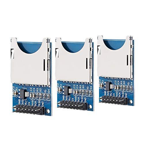 SUNFOUNDER Lector de tarjetas SD para Arduino UNO R3 Mega 2560 Nano (3 unidades)