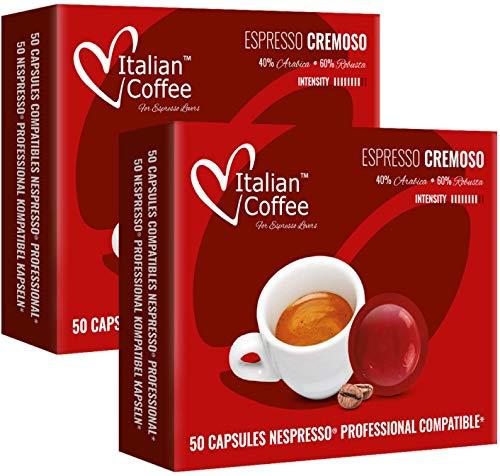 100 Capsulas Nespresso Profesional - Cremoso - Capsulas Nesp