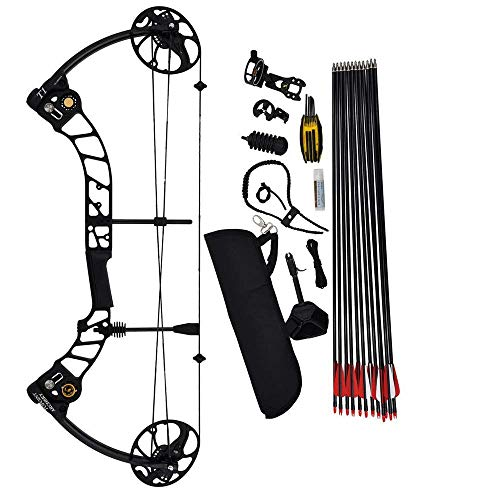 JXJ Bow And Arrow for Adults, Cutting-Edge Composite Bow And Arrow, Pulley...