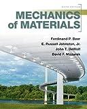 Mechanics of Materials by Ferdinand Beer (2011-01-04)