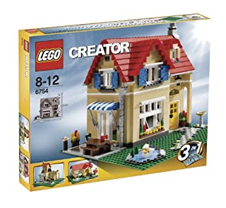 LEGO Creator 6754 - Einfamilienhaus (B001U3ZMEA) | Amazon price tracker / tracking, Amazon price history charts, Amazon price watches, Amazon price drop alerts