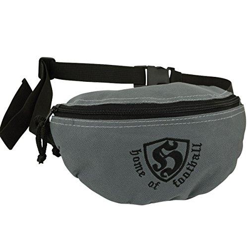 Hooligan Hip Bag Gürteltasche HOF grau - Einheitsgrösse