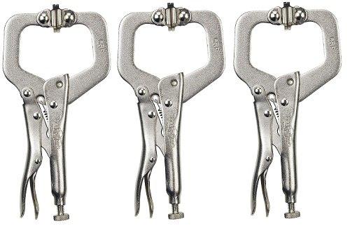 Locking C-Clamp, 6 In Size, 2 1/8 In Cap