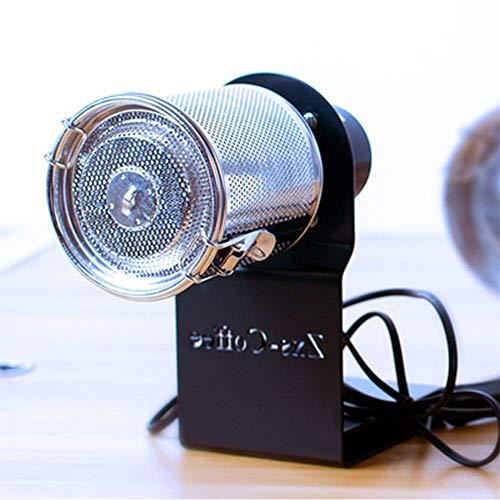 YUCHENGTECH Tostador de café eléctrico de acero inoxidable para preparar café (300 g, negro)