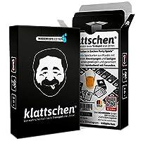 🚀 DIE REVOLUTION IN SACHEN PARTYSPIELE Kult-Trinkspiel 'klattschen', 60 Spielkarten (ohne Glas) - ***Oft kopiert doch nie erreicht*** - klattschen ist das meistverkaufte Karten-Trinkspiel in Deutschland - DER 'EISBRECHER' UND PARTYKNALLER für 2 - 10 ...