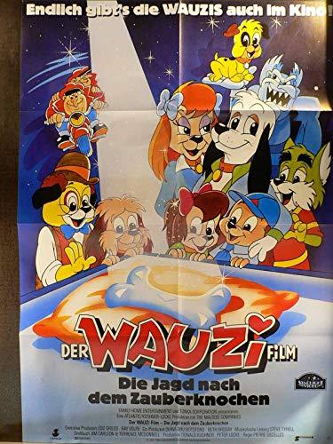 Der Wauzi-Film - Jagd nach dem Zauberknochen Videoposter A1 84x60cm gefaltet (g)