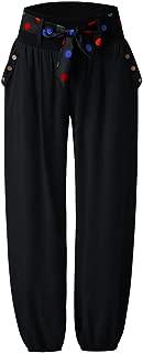 Women's Harem Pants Fashion Plus Size 5XL Candy Color Casual Long Pant Baggy Flare Pants Women