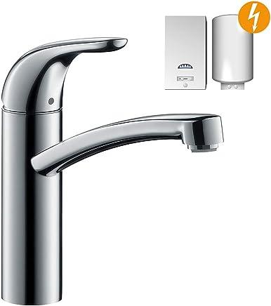 Hansgrohe Focus E Einhebel Küchenmischer, Komfort Höhe 155mm, Für Offene  Warmwasserbereiter,