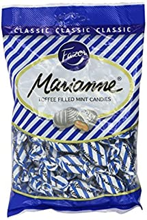 Fazer Marianne Blue Classic Finnish Toffee Filled Mint Hard Candies Candy Sweets Bag 220g by Fazer Marianne