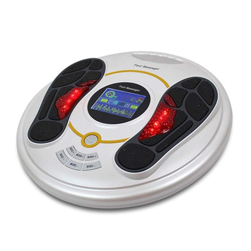 改善アブセイ腹痛リモコン 足のマッサージャー指圧機電気の足マッサージャースパ熱、深い混練機能リリーフ足のストレスホームオフィス用 インテリジェント, white