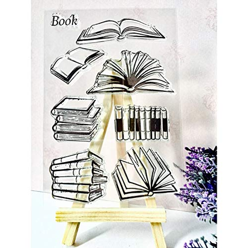 Best Design Book DIY Silicone Transparent Stamp Cling Seal Scrapbook Embossing Album Decor, Cling Script Stamp - Scrap Book Stamps, Scrapbook Rubber Stamps, Christmas Stamp, Scrapbook Transparency