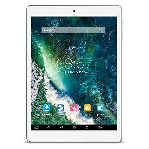 ALLDOCUBE iPlay 8 Tablet, IPS screen from 7,85 inch 1024 x 768, MTK MT8163 Quad Core from 1,3 Ghz, 1 GB of RAM, 16 GB of ROM, Android 6.0, Support HDMI Output, Dual Band WiFi, White Gray - NO Adapter