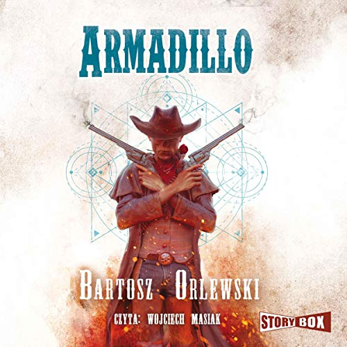 Armadillo audiobook cover art