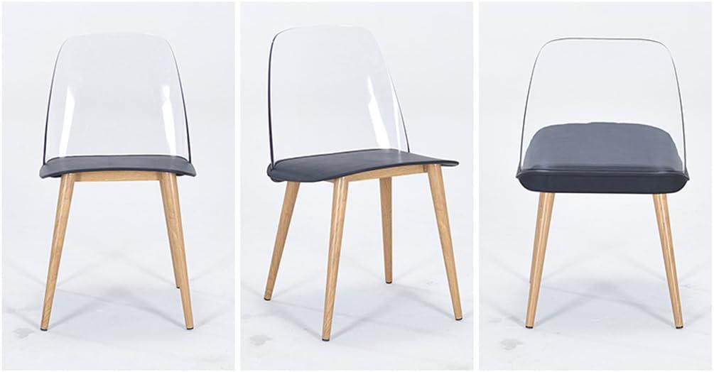 HXF- Chaise créatrice de Loisirs créative Chaise Minimaliste Moderne Durable (Color : D) A