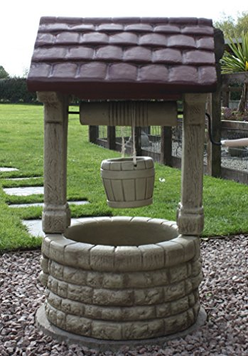 Border Stoneware Large Wishing Well (Made in UK) Over 3ft tall