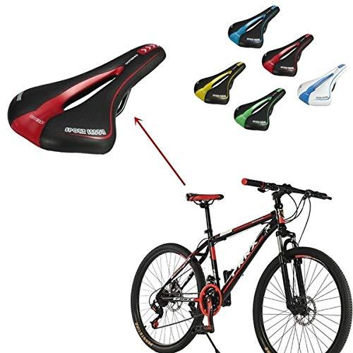 MXBIN Profesional Carretera Gel cómodo sillín de Bicicleta del Asiento del Amortiguador...