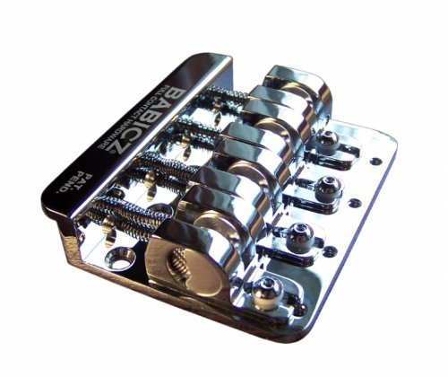 Babicz 4-String Bass Bridge Chrome, Original Series (FCH4CHP)