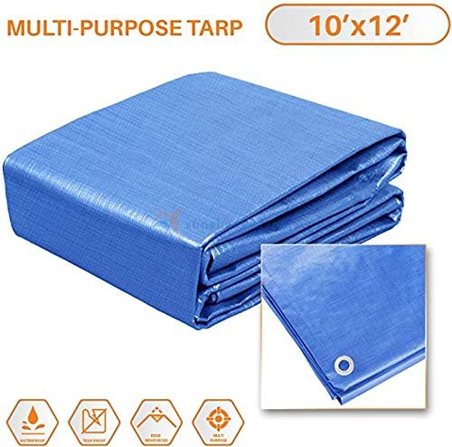 10x12 Multi-Purpose Waterproof Tarp
