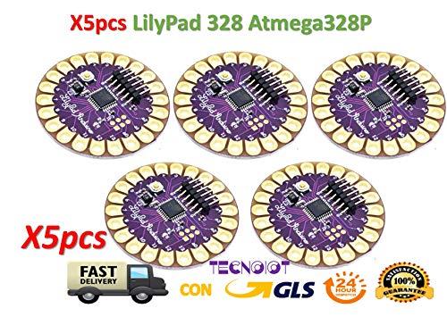 BianchiPatricia 20 Pcs//Set Lilypad LED Red//White//Emerald Green//Blue//Yellow Light Module Kit